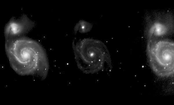 M51 Supernova 050707